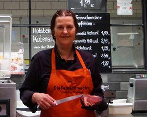 Dagmar Furtado Fleischereifachverkäuferin bei DieFeinschmecker