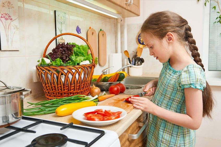 Zum Muttertag etwas kochen.