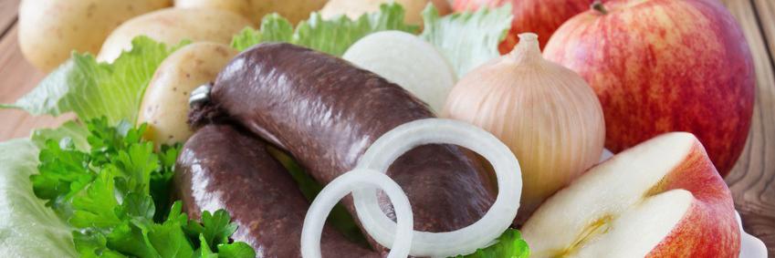Grützwurst schmeckt besonders im Herbst